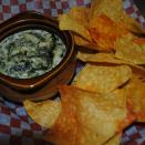 Another fan favorite!  Does it get any better than house made spinach and artichoke dip served with just-out-of-the-frier corn tortilla chips?